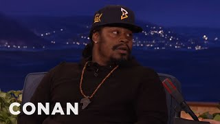 Download Marshawn Lynch On The Colin Kaepernick Controversy - CONAN on TBS Video
