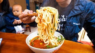 Download Chinese Street Food - ENTIRE BOWL ONE-NOODLE and Halal Beef Salad! | Yunnan, China Day 2 Video