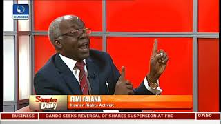 Download Why Nigeria, South Africa Is Responsible For Libya Slavery- Falana Video
