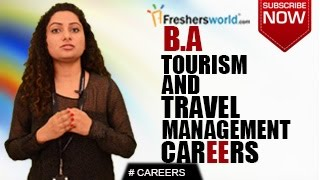 Download CAREERS IN BA TOURISM & TRAVEL MANAGEMENT – MBA,P.Hd,Tour Operators,Job Opportunities,Salary Package Video