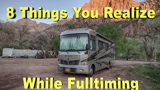 Download 8 Things You Realize While Full Time Living In A RV Video