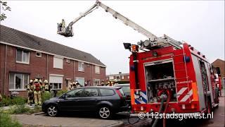 Download Grote uitslaande brand in hennepkwekerij Oost-Souburg 15-07-2017 Video