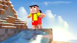 Download Minecraft: - MÔNICA TOY - MÔNICA DEU UM BANHO NO CASCÃO!?! Video