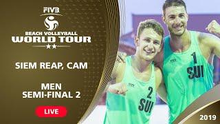 Download Siem Reap 2-Star 2019 - Men Semifinal 2 - Beach Volleyball World Tour Video