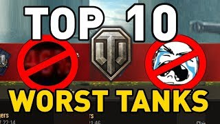 Download World of Tanks || Top 10: WORST TANKS Video