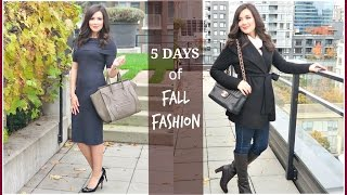 Download WORK APPROPRIATE 5 DAYS OF FALL FASHION Video