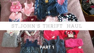Download St.John's Thrift Haul Part 1- Kids Clothes Video