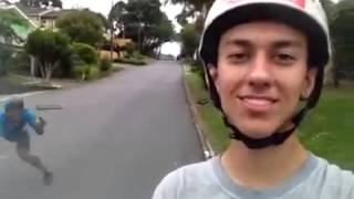 Download Longboard Selfie Fail Video