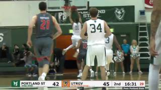 Download Highlights from the Vikings' 87-74 win over UTRGV | Portland State Men's Basketball Video