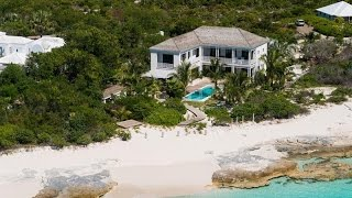 Download Luxurious Beachfront Villa in Grace Bay, Turks and Caicos Video