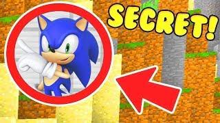 Download WE FOUND SONICS SECRET BASE IN MINECRAFT MCPE! Video