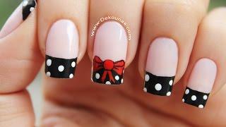 Download Decoración de uñas moño y lunares - Bow nail art Video