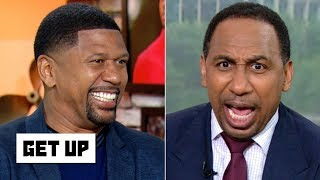 Download Stephen A. has a meltdown over Jalen Rose's advice to Knicks fans | Get Up Video
