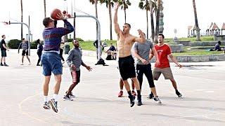 Download NERD PLAYS BASKETBALL AT VENICE BEACH!! (EXTRAS) Video