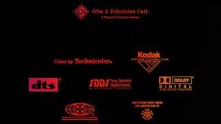 Download Top 10 Final Seconds of End Credits with Warping Gradients in the Background Video