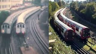 Download Central Line 1962 + 1992 Stock Contrasts Video