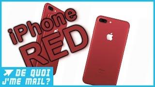 Download Apple met du rouge dans son iPhone 7 DQJMM (1/3) Video