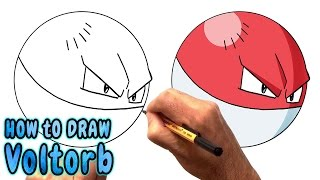 Download How to Draw Voltorb from Pokemon Go - Very Rare (NARRATED) Video