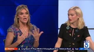 Download Missi Pyle and Maddie Hasson Explain The Difference Between Time Travel And Teleportation Video