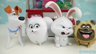 Download Secret life of pets play the claw machine game Video