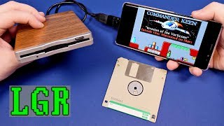 Download LGR - Using a Floppy Disk Drive on a Smartphone Video