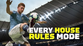 Download Every FIFA 19 House Rules Mode Video