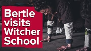 Download There's a real-life Witcher school in Poland. We sent Bertie. Video