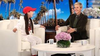 Download Young Hip Hop Dancer Amy Shows Ellen Her Moves Video
