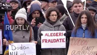 Download Moldova: Protesters call for annulment of presidential election result Video