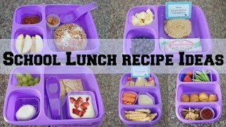 Download Back To School Lunch Recipe ideas & Goodbyn! Video