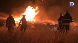 Download Grote brand Maria Peel in Deurne Video