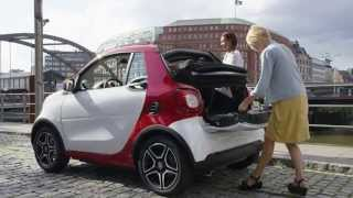 Download Smart Fortwo Cabrio - Red Color : Video on the Road Video