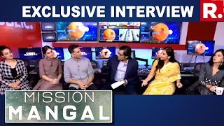Download Team 'Mission Mangal' Speaks To Arnab Goswami; Akshay Kumar, Vidya Balan, Taapsee Pannu On Republic Video