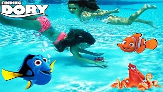 Download Disney Pixar Finding Dory Water Toys Diving for Finding Dory Characters - Blind Bags Mashems Opening Video