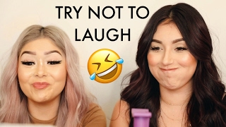 Download TRY NOT TO LAUGH CHALLENGE FT. DAISY MARQUEZ Video