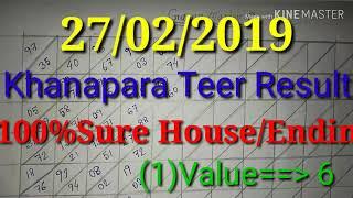 Shillong Teer Result 10-10-2017? 100% Common?khanapara teer result