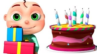 Download Happy Birthday Song And Many More | Nursery Rhymes Collection | 3D Animation Kids Songs Video