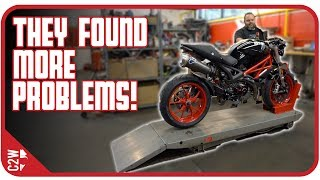 Download I took the Monster to the shop [Wrecked Bike Rebuild - Ep. 13 - Ducati Monster 1100] Video