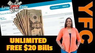 Download Easy Cash Code System | Get Free Bonus Cash Money Unlimited Free $20 Bills Inside ECC Here's Proof Video