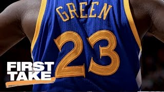 Download Warriors' Draymond Green A Dirtier Player Than Celtics' Kelly Olynyk?   First Take   May 10, 2017 Video