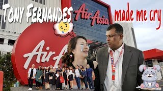 Download TONY FERNANDES AIRASIA MADE ME CRY Video
