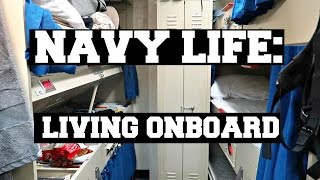 Download NAVY LIFE: LIVING ONBOARD AN AIRCRAFT CARRIER Video