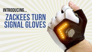 Download Zackees Turn Signal Gloves for Cycling - Buy Now for $74.99 Video