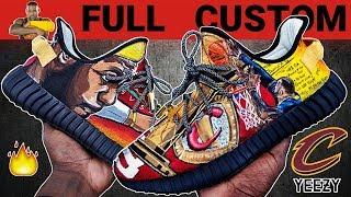 Download Full Custom | Lebron James ″LeGOAT″ Yeezy Boost 350 V2 by Sierato Video