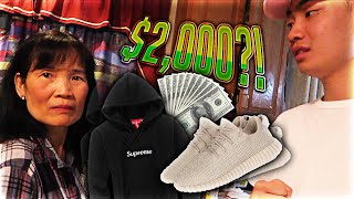 Download Mom Freaks Out at me for Buying Yeezys and a $1000 Hoodie (LIVE FOOTAGE) Video