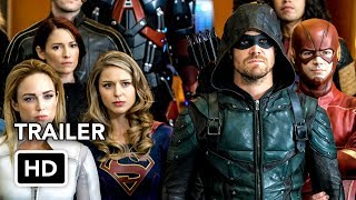 Download DCTV Crisis on Earth-X Crossover Full Trailer - The Flash, Arrow, Supergirl, DC's Legends (HD) Video