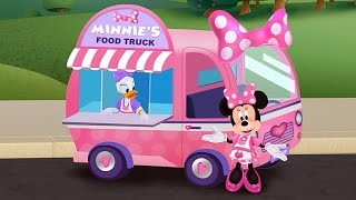 Download Minnie's Food Truck Part 1 - Minnie Mouse & Daisy Duck - iPad app demo for kids - Ellie Video