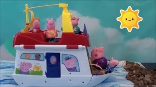 Download Peppa Pig Compilation: Peppa Pig House Boat, Peppa Pig Magical Jelly Beans, Peppa Pig Happy Family Video