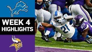 Download Lions vs. Vikings | NFL Week 4 Game Highlights Video