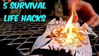 Download 5 Survival Fire Starting Life Hacks Video
